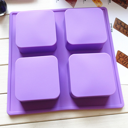 Soap Mold - Square BFB12020 4X100g