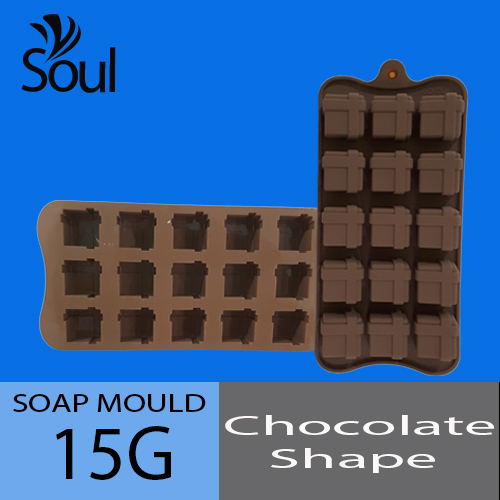 Soap Mold - Chocolate 15x15G