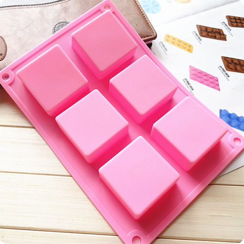 Soap Mold - Square BFB11111 6X70g