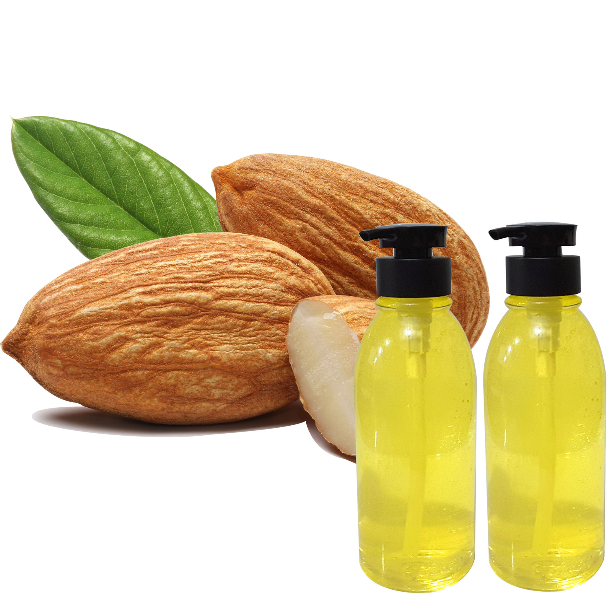 Virgin Almond Massage Oil Jasmine EO -500ml Twin Pack