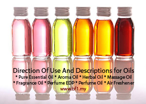 Direction Use Of Natural Oils Bf1 Malaysia