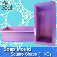 Soap Mold - Square Shape (1KG)