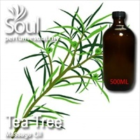 Massage Oil Tea Tree - 500ml